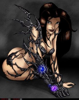 Future Witchblade painted by nio107