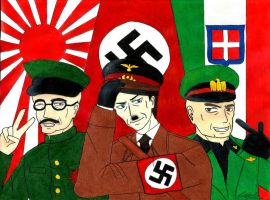 The Axis Powers by KhangHi