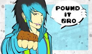 POUND IT BRO by HastyLion