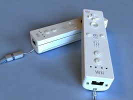 Wii Remotes by Marty--McFly