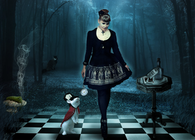 Alice in Shadowland by Wild-Huntress