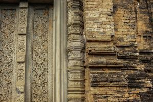 Detail Temple door by PsyjaH