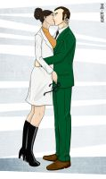 Kissing Your Hidden Self by kuri7