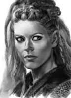 Katheryn Winnick sketch 2 by tonyob