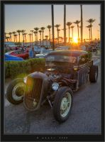 Rat Rod Sunset by HogRider