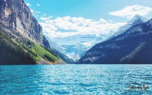 Lake Louise by Janjua