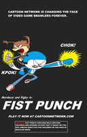 Fist Punch Poster by thekirbykrisis