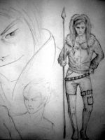 sketches by soy-bean