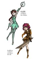 MB4Y: Raine and Layla by Spoonzmeister