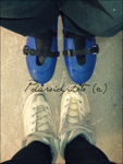 Love on the ice rink by PolaroidPhoto