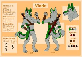 Commission - Vinde - Reff Sheet by Viccinor