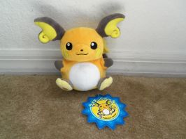 .: 2012: Pokemon Center Raichu Pokedoll :. by BeachBumDunkin