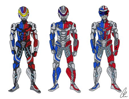 VR Troopers Ryan Movie Idea 1 - colors by LavenderRanger