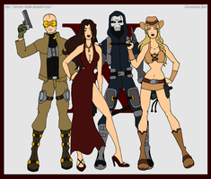 Commission - Agency X by Femmes-Fatales