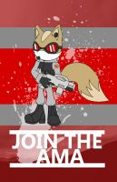 Anti Mobian Army Recruitment Poster by TwisterTheHedgehog