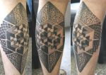 Dotwork Tattoo by DotworkDamian