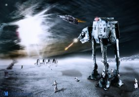 Battle from Hoth by SmurFFF1971