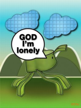 God Im lonely by LICG