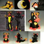 Flames Plush by WhittyKitty