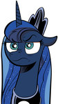 (MLP #17) Luna Is Not Amused by mattyhex