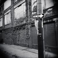 One Way - B+W by bewing