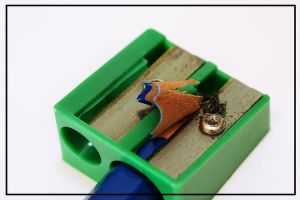 Pencil sharpener in use by jadedyouth1980