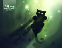 1st edition calendar by Apofiss