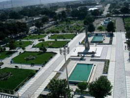 Beautiful park in Herat - Afghanistan by msnsam