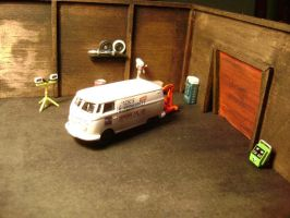Diorama for a customer by prorider