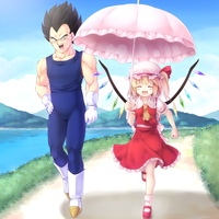Taking Flandre On A Walk by LoveCrossover