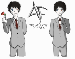 Artemis Fowl: The Atlantis Complex-- drawing by Potchin