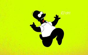 homer simpsons wallpaper by tutty06