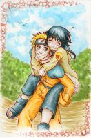 Naruto and Hinata by wwiwa84