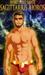 Hunky Gold Saints - Aioros by Luisazo