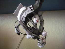 GLaDOS Papercraft 2 by DemonBa55Player