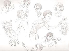 Little Shop of Horrors Doodles by TheRandomAnchovy