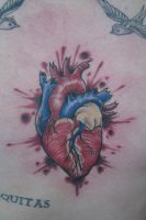 Gory Heart by JoshDixArt
