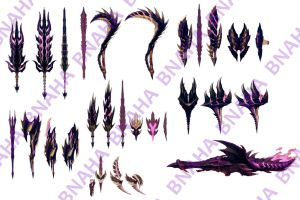 Alatreon Weapon Concept by Bnaha