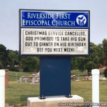 Church Sign 2 - Funny by Balmung6