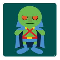 martian manhunter by striffle