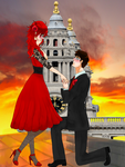 A proposal to remember- Grelliam by AmericanNordicTard
