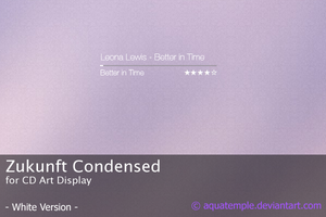 Zukunft Condensed II for CAD by AquaTemple