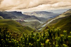 Lesotho Mountains by BabylonWarchild