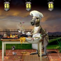 Roo Chef by funkwood
