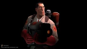 SFM Poster: The Medic by PatrickJr