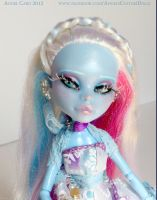 Jacqueline Frost Custom OOAK Monster High Doll by ButterflyInDisguise