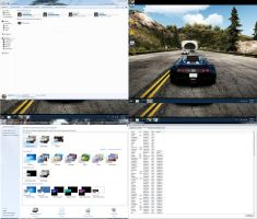 NFS hot pursuit skin pack for windows 7 x86 by Rigved3