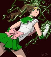Sailor Jupiter by Carina-chan