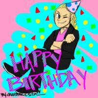 HAPPY BIRTHDAY TO THE SHOW-OFF by Shinkumancer