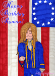 Happy 258th Birthday Roman by JulianaJealousy
